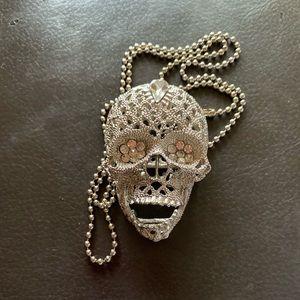 Jewelry - Dia de los muertos long chain. NEW CHAIN SS.